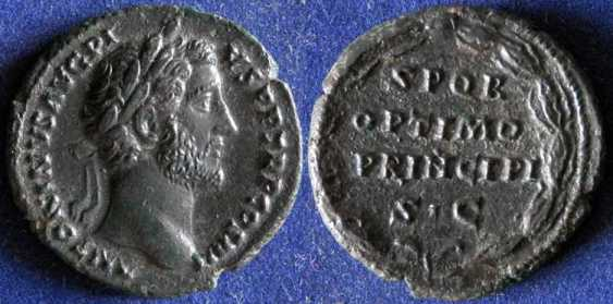Rimsky Empire, Antoninus Pius,138 - photo 1