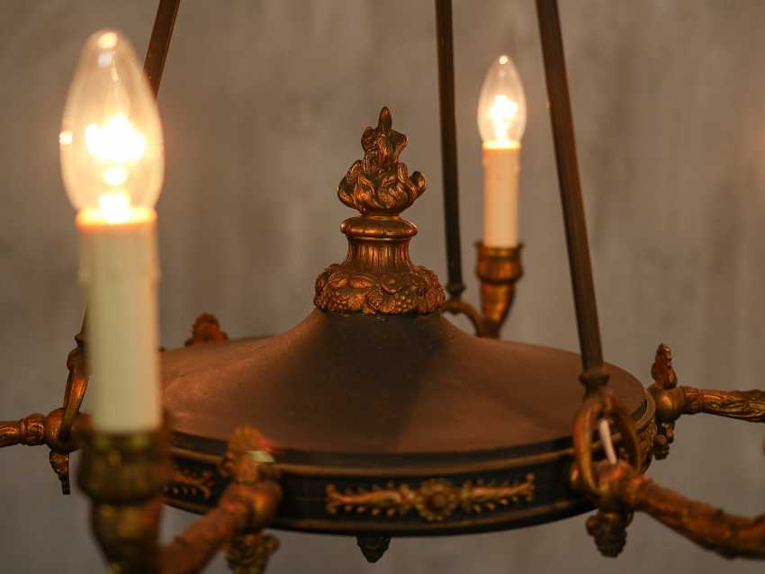 Antique chandelier - photo 10