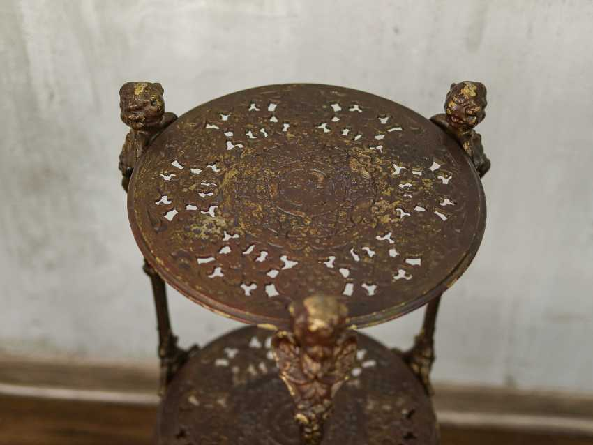 Antique wrought iron table - photo 3