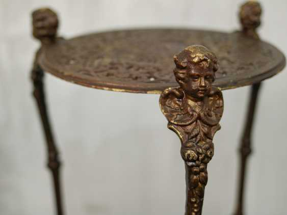 Antique wrought iron table - photo 4