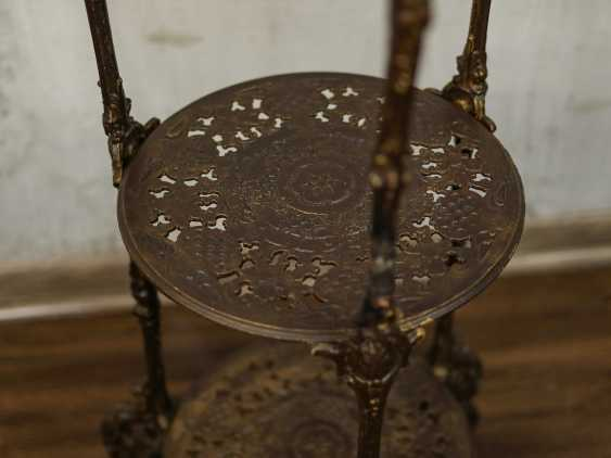 Antique wrought iron table - photo 5