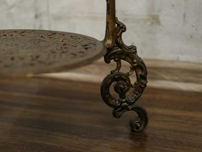 Antique wrought iron table - photo 7