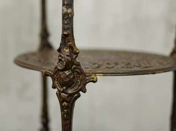 Antique wrought iron table - photo 8