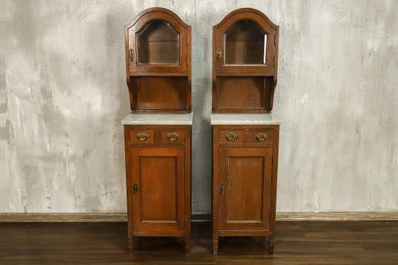 Pair of antique nightstands - photo 1