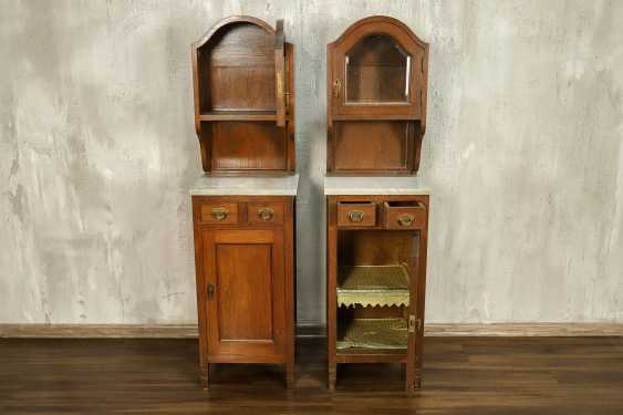 Pair of antique nightstands - photo 3