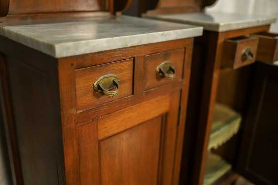 Pair of antique nightstands - photo 5