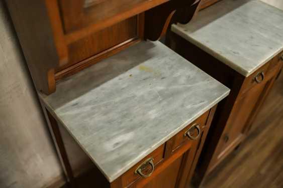 Pair of antique nightstands - photo 8