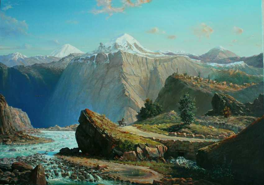 Gabriel Max. Mountain landscape - photo 1