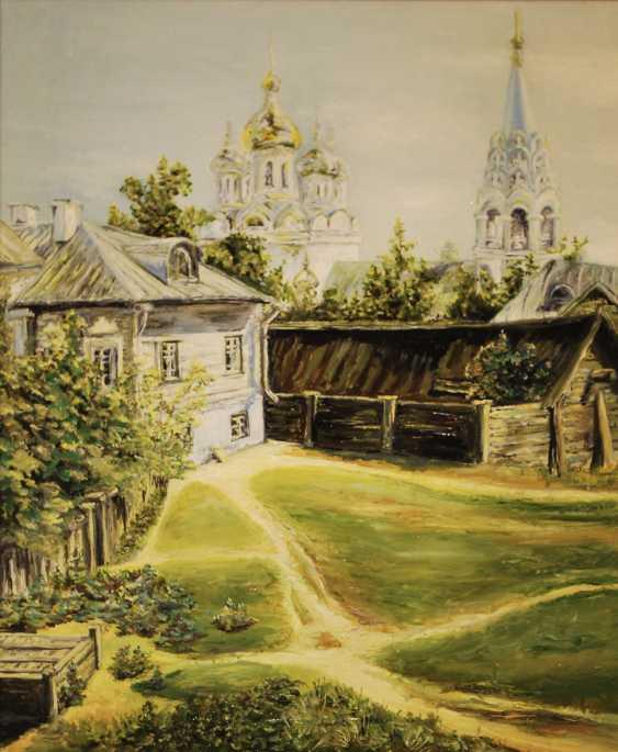 "Alexandra Zhurkina. Based on ""Moscow Courtyard"" by V. Polenov - photo 1"