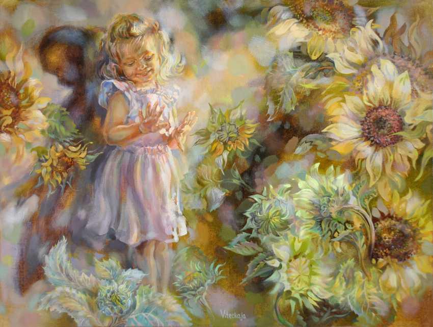 Vitsetskaya Sniazhana. Sunflowers - photo 1