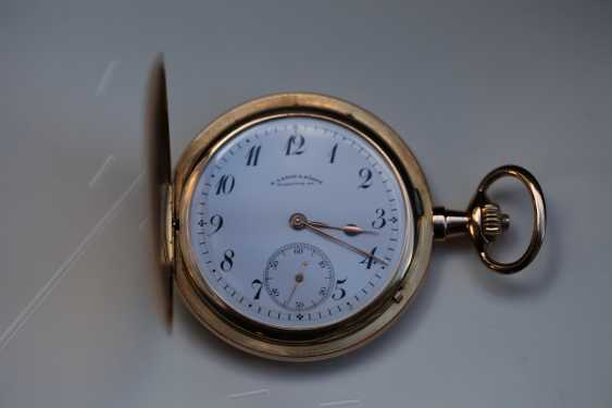 A. Lange & Söhne 1A 18K / 750 rose gold savonette pocket watch - photo 1