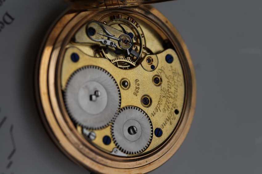 A. Lange & Söhne 1A 18K / 750 rose gold savonette pocket watch - photo 2