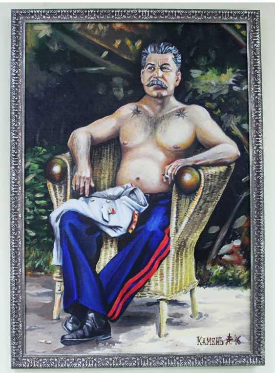 Alexey Kamentattoo. Stalin in Potsdam - photo 1