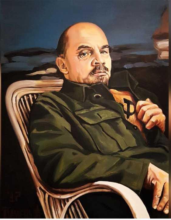 Alexey Kamentattoo. Lenin - photo 1