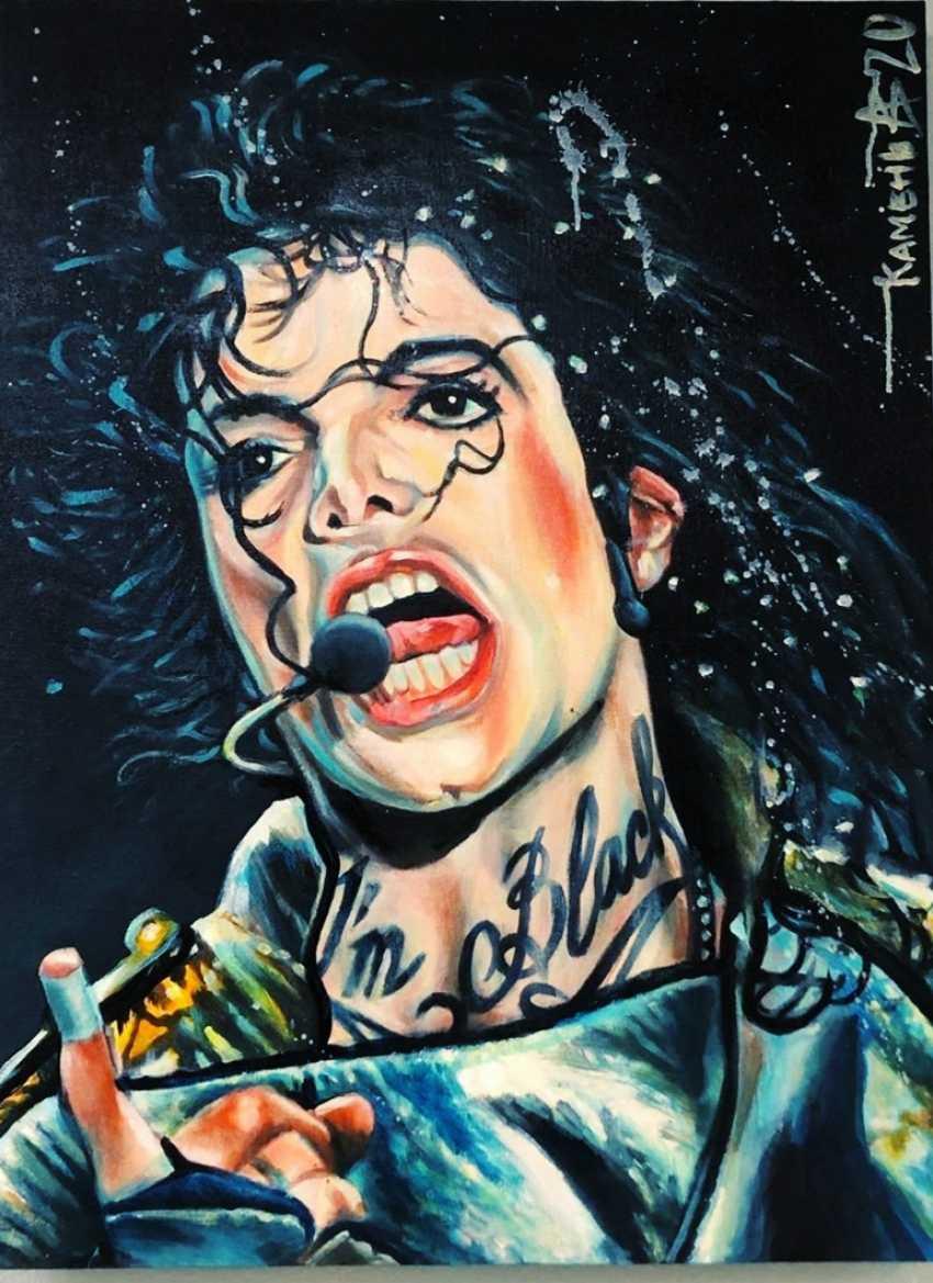 Alexey Kamentattoo. Michael Jackson - photo 1