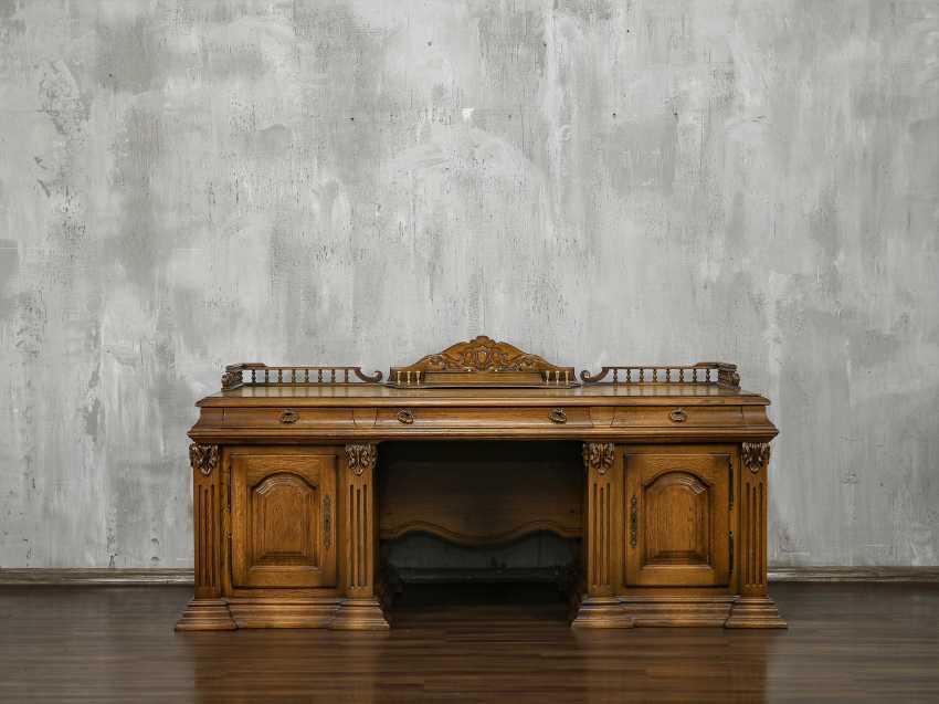 Vintage writing desk - photo 1