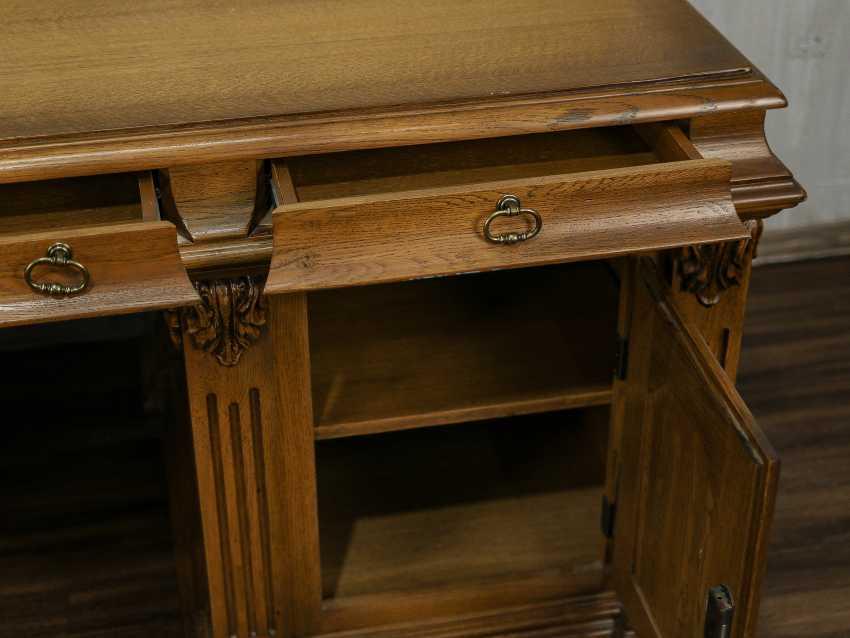 Vintage writing desk - photo 3