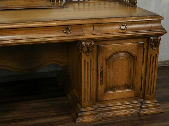 Vintage writing desk - photo 8