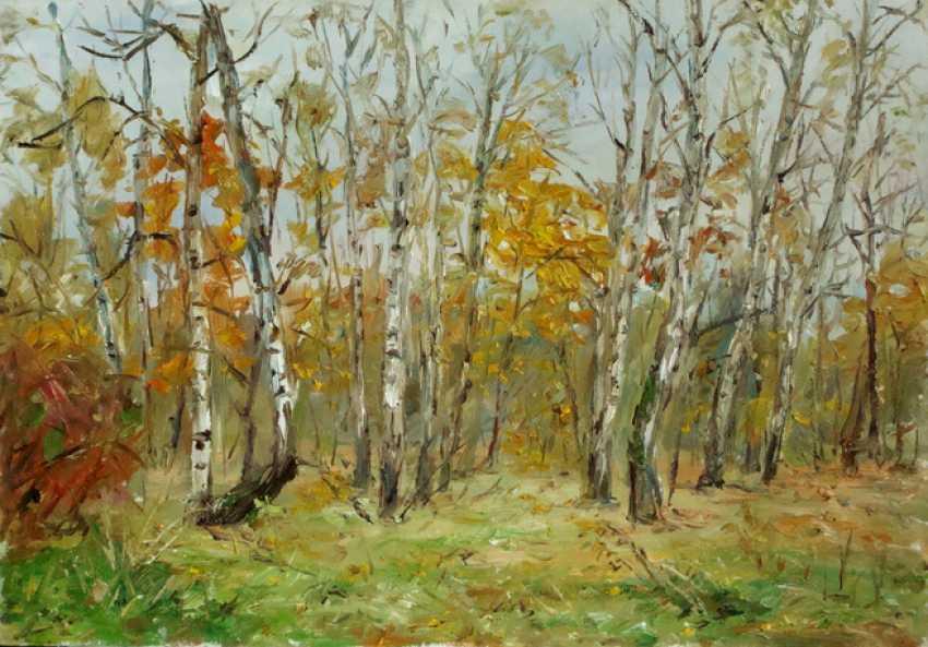 Marina Novikova. Autumn forest - photo 1