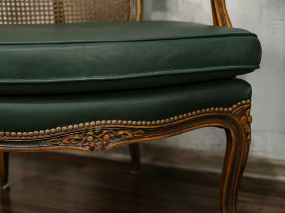 Pair of antique carved armchairs - photo 5