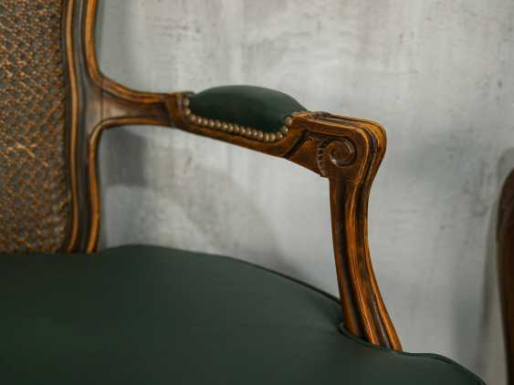 Pair of antique carved armchairs - photo 7