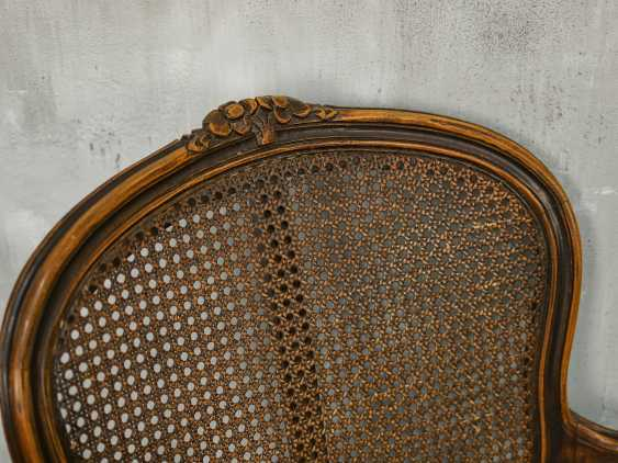 Pair of antique carved armchairs - photo 10