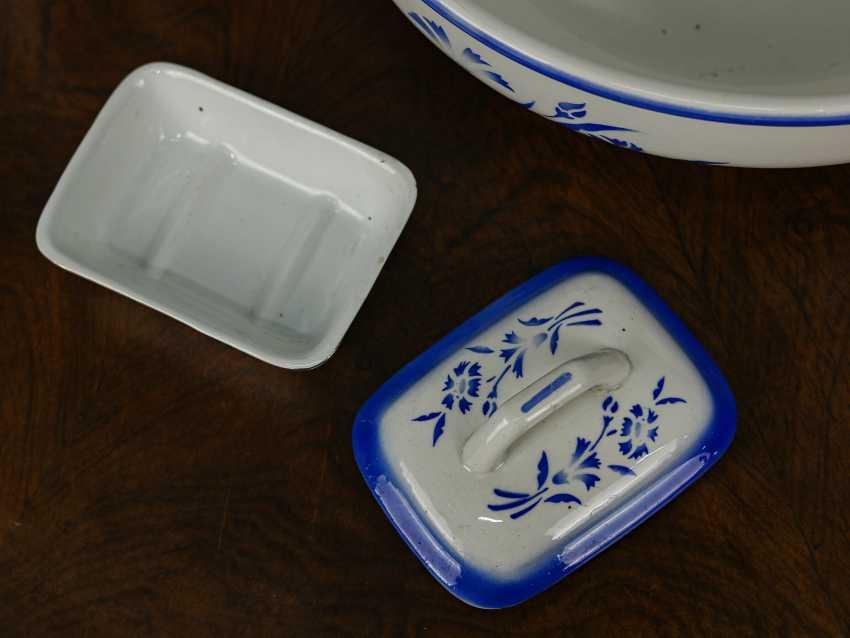 Antique washbasin set, 3 pieces - photo 4