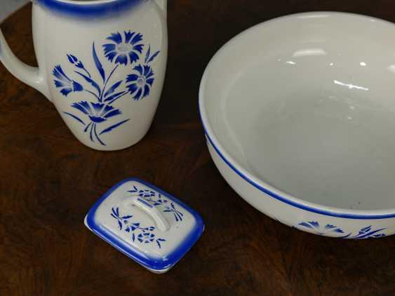 Antique washbasin set, 3 pieces - photo 7