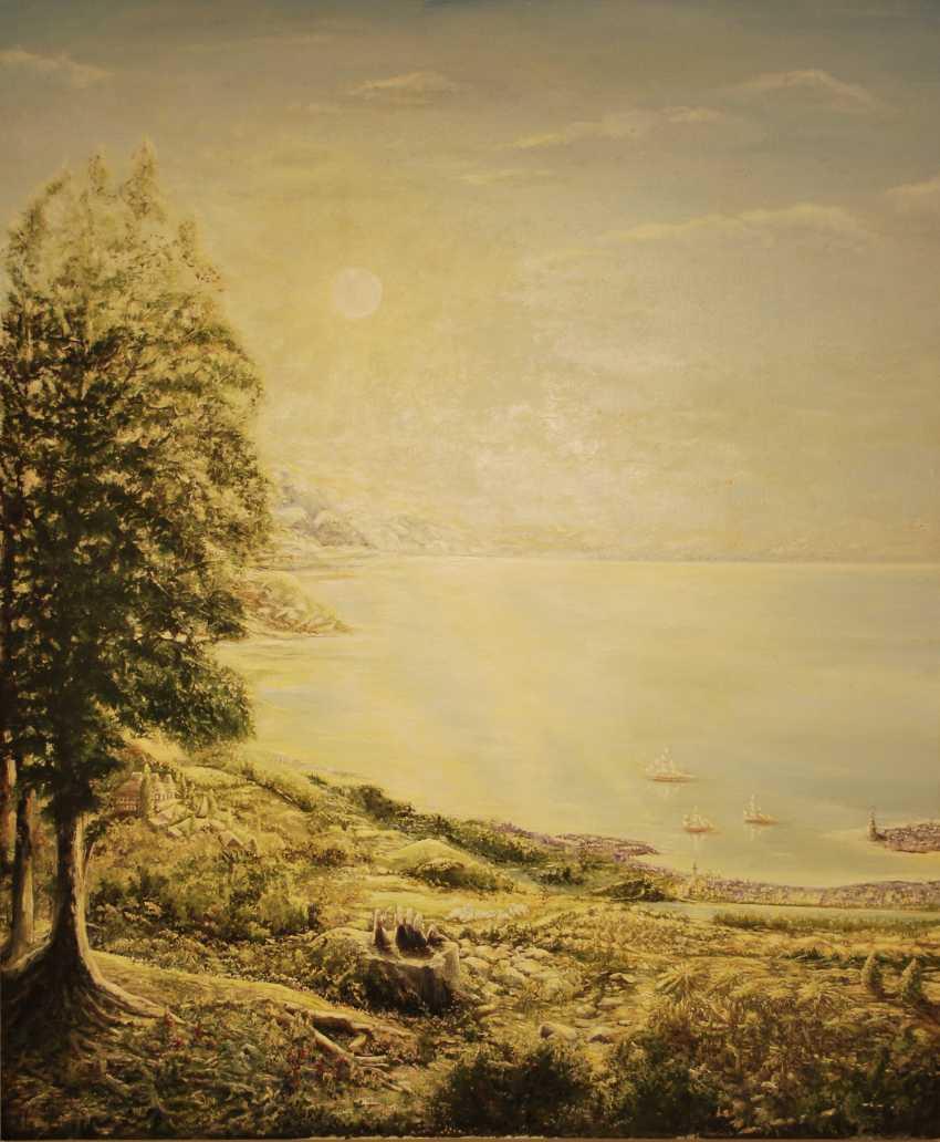 Alexandra Zhurkina. Landscape based on Russian artists - photo 1