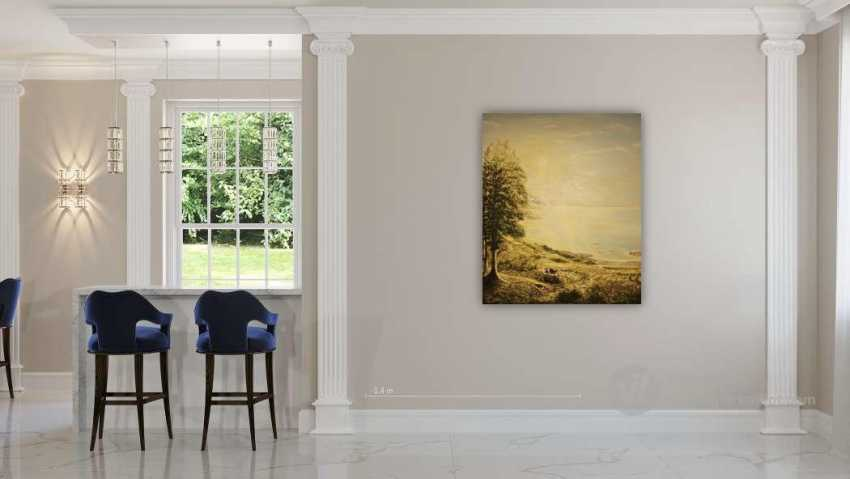 Alexandra Zhurkina. Landscape based on Russian artists - photo 2