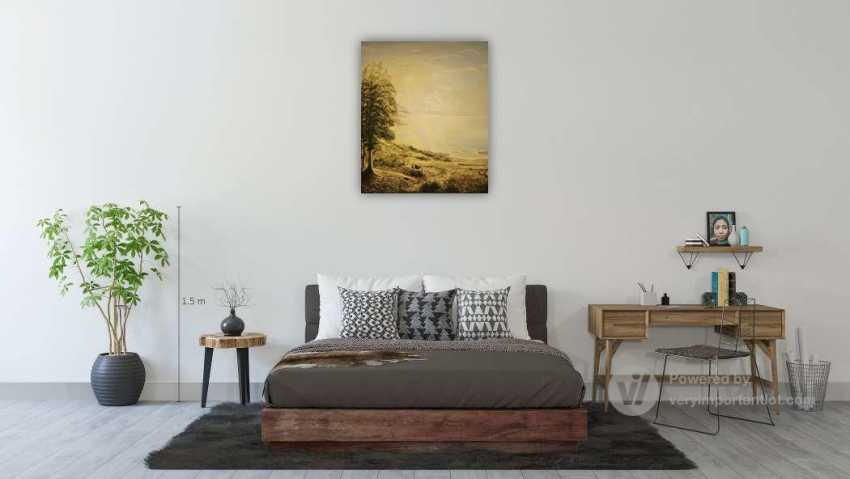 Alexandra Zhurkina. Landscape based on Russian artists - photo 3