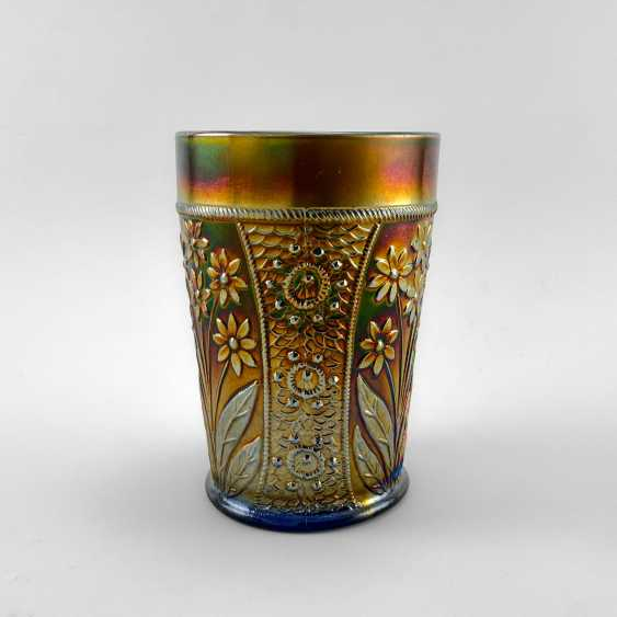 "Glass ""Bouquet"". USA, Fenton, carnival glass, handmade, 1907-1920 - photo 1"