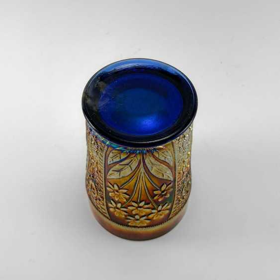 "Glass ""Bouquet"". USA, Fenton, carnival glass, handmade, 1907-1920 - photo 2"