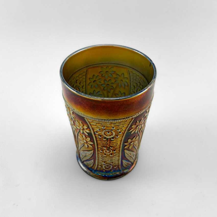 "Glass ""Bouquet"". USA, Fenton, carnival glass, handmade, 1907-1920 - photo 3"