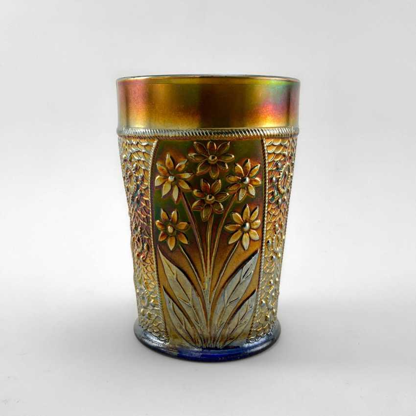 "Glass ""Bouquet"". USA, Fenton, carnival glass, handmade, 1907-1920 - photo 4"