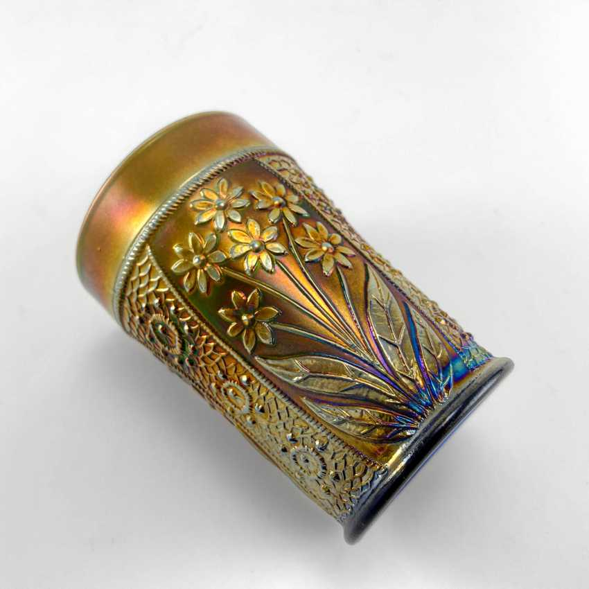 "Glass ""Bouquet"". USA, Fenton, carnival glass, handmade, 1907-1920 - photo 5"