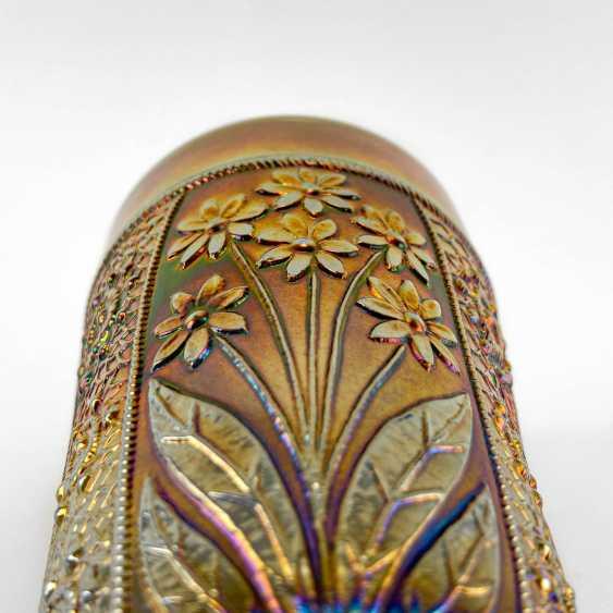 "Glass ""Bouquet"". USA, Fenton, carnival glass, handmade, 1907-1920 - photo 6"
