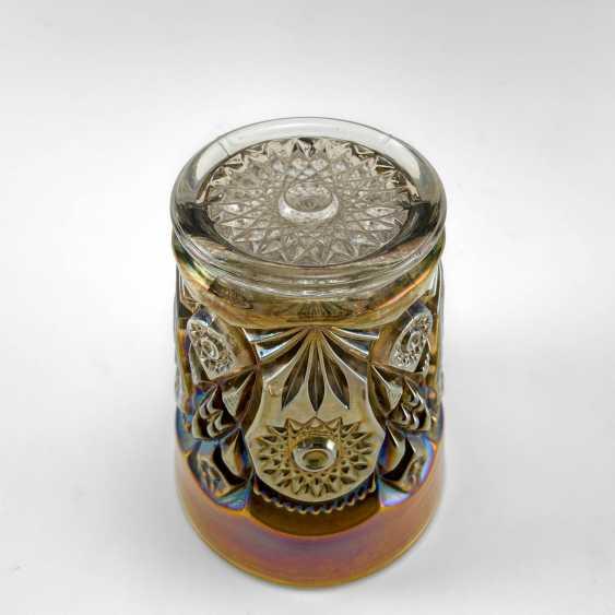 "Glass ""Fashion"". USA, Imperial, carnival glass, handmade, 1906-1920 - photo 2"