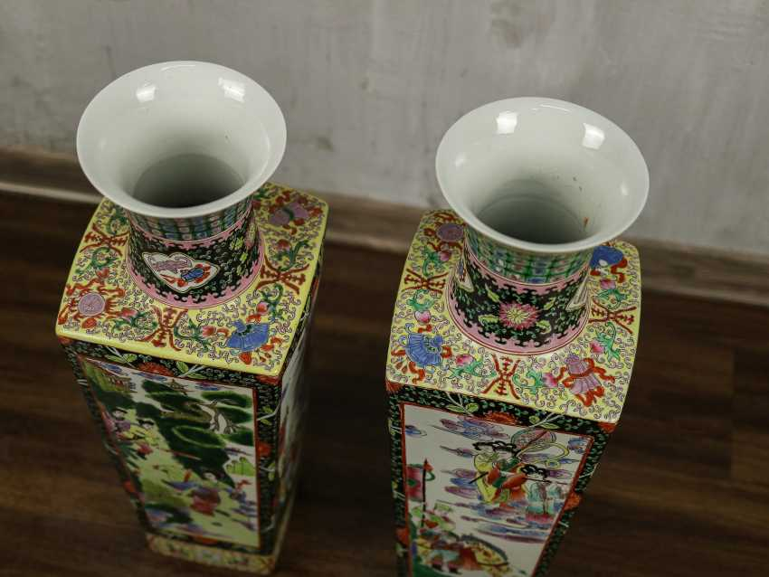 Antique paired floor vases - photo 3