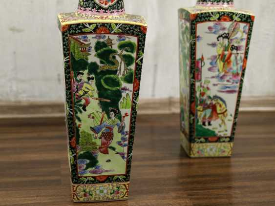 Antique paired floor vases - photo 4