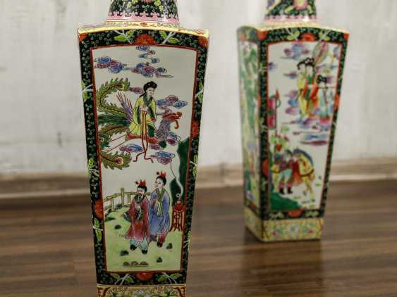 Antique paired floor vases - photo 5