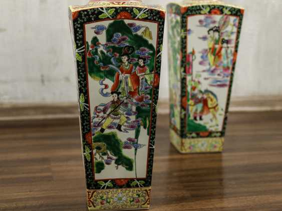 Antique paired floor vases - photo 6