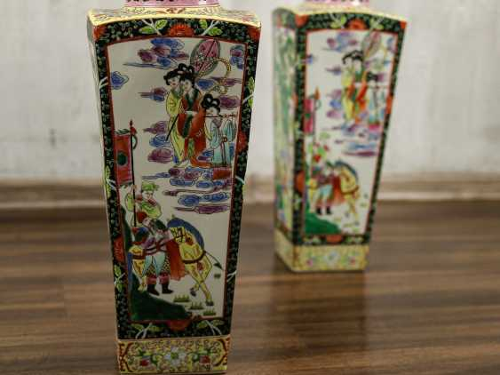Antique paired floor vases - photo 7