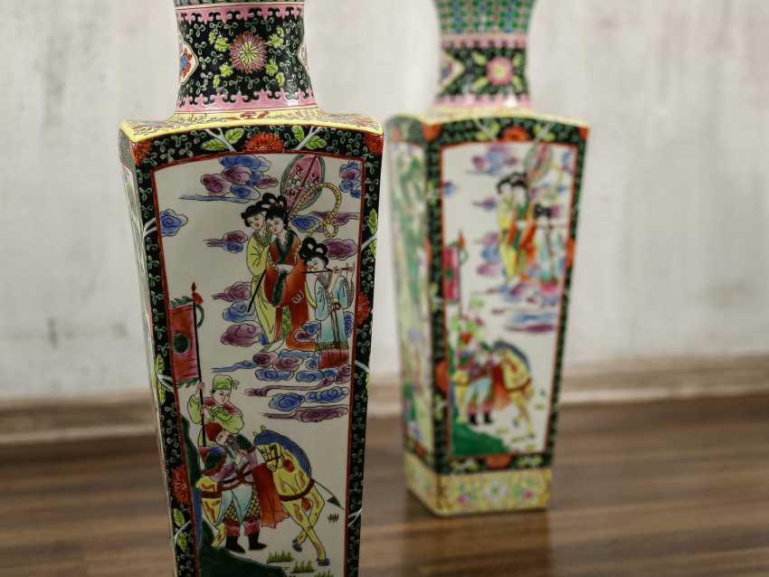 Antique paired floor vases - photo 9