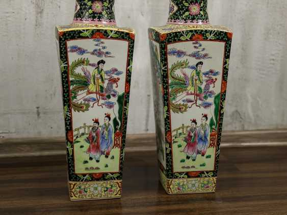 Antique paired floor vases - photo 10