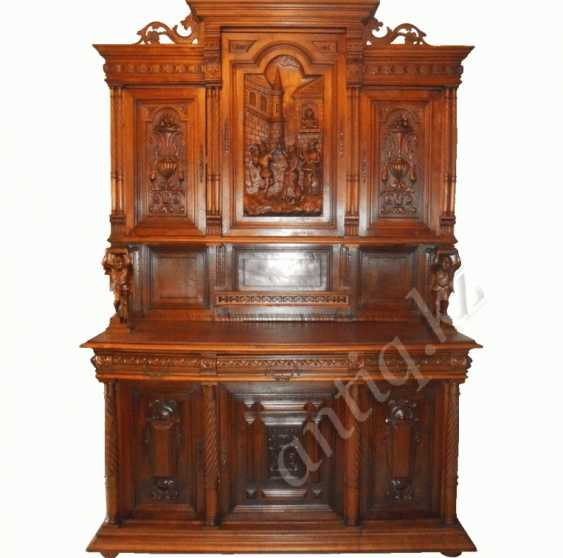 Carved French sideboard - photo 1