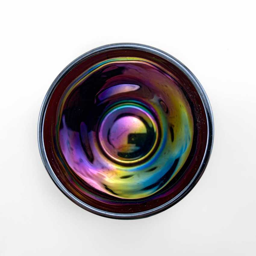 "Glass ""Seashell"". USA, Dugan, carnival glass, handmade, 1904-1913 - photo 6"