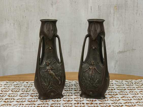 Antique pair vases - photo 1