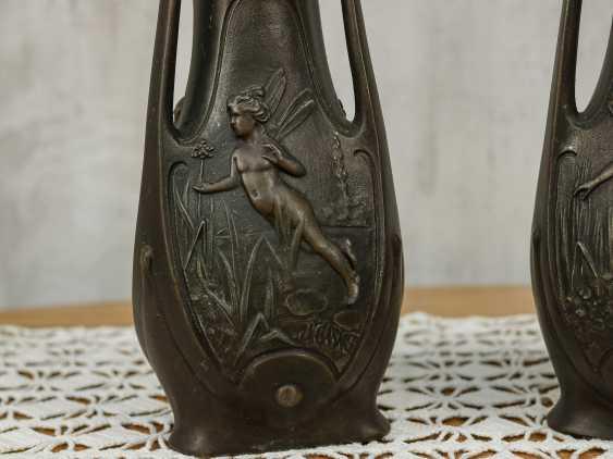 Antique pair vases - photo 3