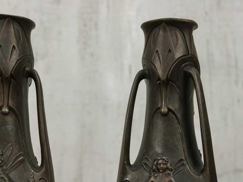 Antique pair vases - photo 4